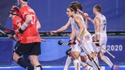JO Tokyo 2020, hockey: déjà qualifiés, les Red Lions partagent contre la Grande-Bretagne pour terminer la phase de poule