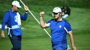 L'Europe remporte la Ryder Cup face aux Etats-Unis, au bout du suspense