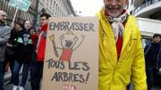Quelque 250 scientifiques manifestent à Bruxelles contre la méfiance envers les experts