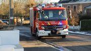 Namur: important incendie à Laneffe