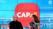 Philippe Geluck... Parrain de l'émission de clôture Cap 48, c'est comme Chat !