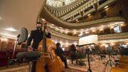 Coronavirus : l'Opéra de Sofia, l'une des rares institutions en Europe à maintenir ses représentations malgré la pandémie