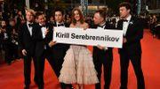 A Cannes, montée des marches par procuration pour le Russe Serebrennikov