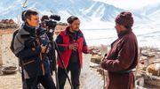 Tournage en altitude et par moins 20 degrés au Zanskar, dans l'Inde du Nord. L'intensité du travail au quotidien.