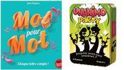 Deux jeux d'ambiance sur la langue française pour des heures de rire et d'apprentissage cet été