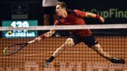 Coupe Davis : Coppejans craque face à Fucsovics, Belgique et Hongrie à égalité