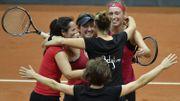 La Belgique bat la Russie et remonte dans le Groupe mondial I de Fed Cup