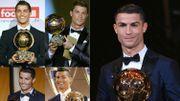 """Cristiano Ronaldo : """"Je ne m'attendais pas à avoir un seul Ballon d'Or, alors cinq..."""""""