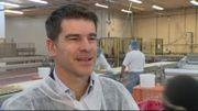 Arnaud Bonnel exporte 15% de sa production en Grande-Bretagne