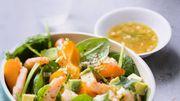 Qui est partant pour une salade de crevettes et abricots?
