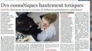 Des cosmétiques hautement toxiques, on en parle dans la Revue de Presse