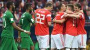 La Russie ouvre son Mondial par un 5-0 infligé à l'Arabie Saoudite !