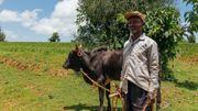 Les 4500 habitants du village d'Esho sont heureux que Manu soit venu les aider à améliorer les conditions de vie de leur village.