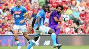 Liverpool en passe cinq à Naples en match de préparation