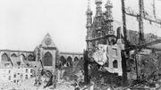 La ville de Leuven détruite