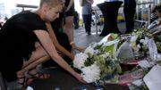 Hommage aux victimes du crash du MH17 devant l'aéroport de Schiphol, aux Pays-Bas