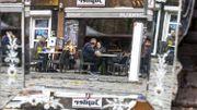 Les terrasses rouvrent, et malgré la grisaille, le Belge répond présent