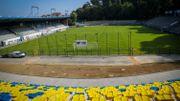 Le stade Jospeh Marien, dans sa nouvelle configuration.