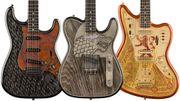 Fender: 3 guitares Game of Thrones