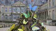 Les papillons de Joy de Rohan Chabot investissent le château de Haroué