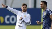 Lionel Messi de retour en sélection d'Argentine après huit mois d'exil