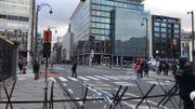 Gilets jaunes à Bruxelles: de nombreux tunnels fermés, 60 arrestations (photos)