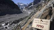 Mont Blanc: la Mer de Glace, splendeur et grisaille