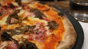 Une pizza aux champignons divine