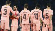 Le Barça de Lionel Messi surclasse l'Espanyol dans le derby catalan et creuse l'écart