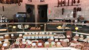 Boucherie familiale créée en 1913 par le grand-père de Benoît Poncelet.