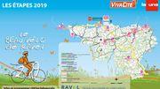 Découvrez toutes les étapes du Beau Vélo de RAVeL 2019 !