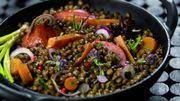 Recette: Lentilles-saucisse express
