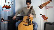 [Zapping 21] Il reproduit les sons de divers instruments avec des guitares