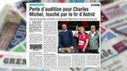 Perte d'audition pour Charles Michel, on en parle dans la Revue de Presse