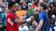 David Goffin jouera contre Nicolas Almagro au deuxième tour à Monte Carlo