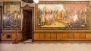 Une université va recouvrir des fresques dépeignant Christophe Colomb