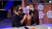 La nuit dans le cube de Viva for Life: Cyril devine des objets avec sa langue