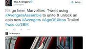 """Les fans des """"Avengers"""" invités sur Twitter pour découvrir le prochain trailer"""