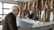 Gérard Bardiau et Alain Potiez ont connu les plus belles heures de l'industrie de la confection à Binche