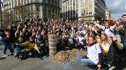 200 Bruxellois ont ramassés 120 000 mégots de cigarettes dans le centre ce weekend