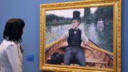 """Caillebotte, """"le moins connu des impressionnistes français"""", à Washington"""