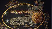 La salamandre émeraude, de Jean Lurçat