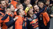 Record de précocité pour le débutant turc Can Öncü, vainqueur en Moto3 à Valence