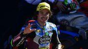 Morbidelli, champion en Moto 2, donnera le coup d'envoi du match Eupen-Bruges