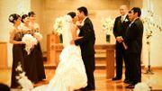 Vous pouvez embrasser la mariée!