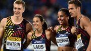 Les trois relais 4X400m repris pour Doha