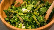 Salade printanière au fromage de chèvre