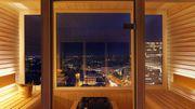 Relaxation et détente avec vue sur la ville... que demandez de plus?
