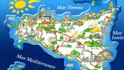 Carte postale de la Sicile