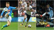De Bruyne à l'assist, Mertens patauge et les Belgian Spurs croquent Dortmund